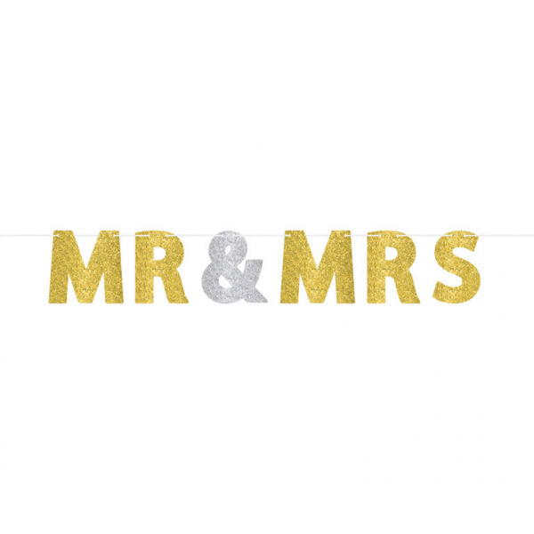 "Virtene ""Mr & Mrs"", spīdīga"
