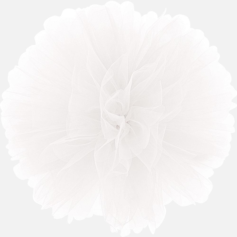 Tilla pūkainis, balts (25 cm)