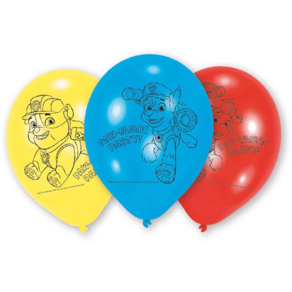 "Baloni ""Paw Patrol""  (6gab)"