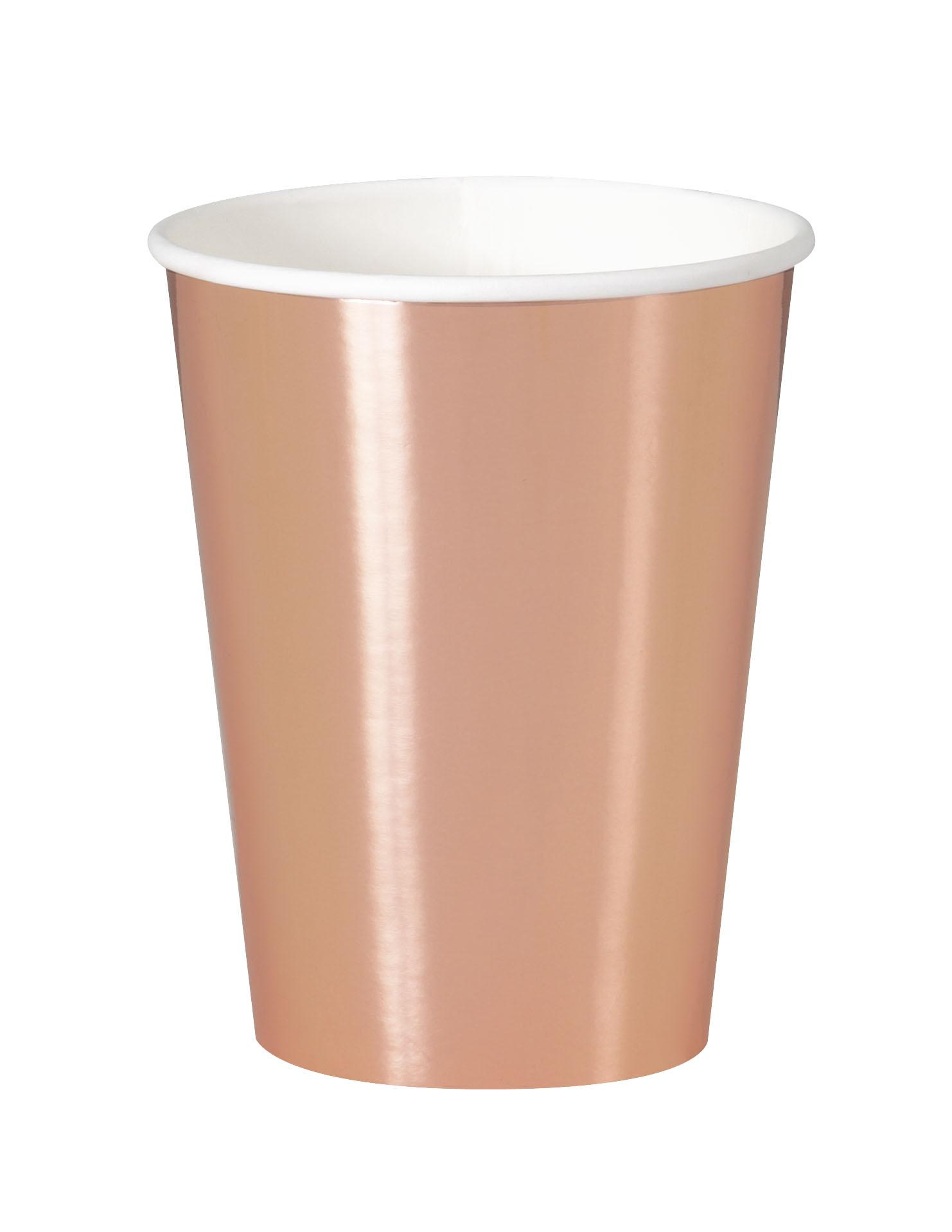 "Glāzītes ""Rozā zelts"" (8 gab/ 355 ml)"