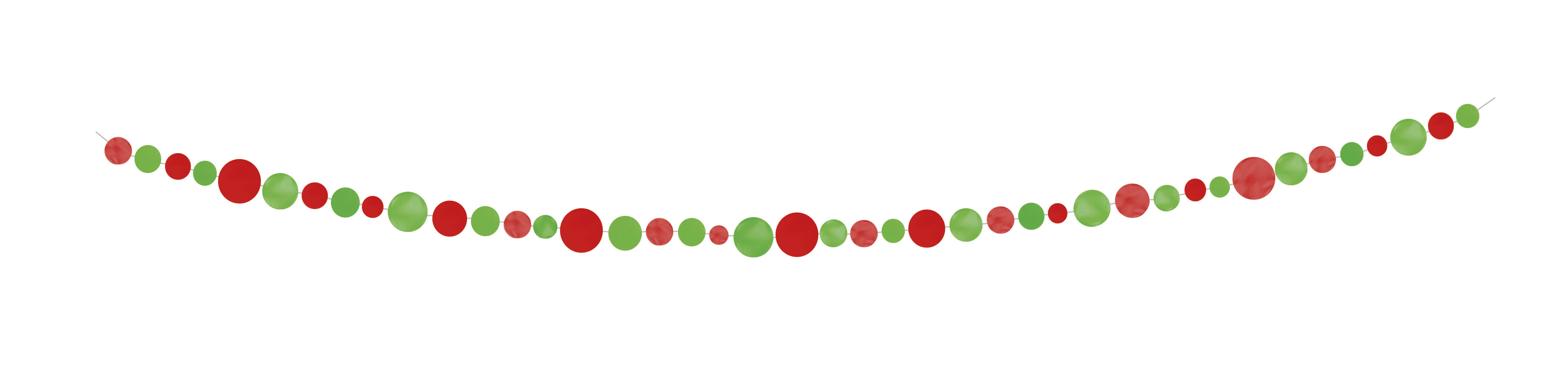 Virtene, sarkani-salātkrāsas aplīši (2,74 m)