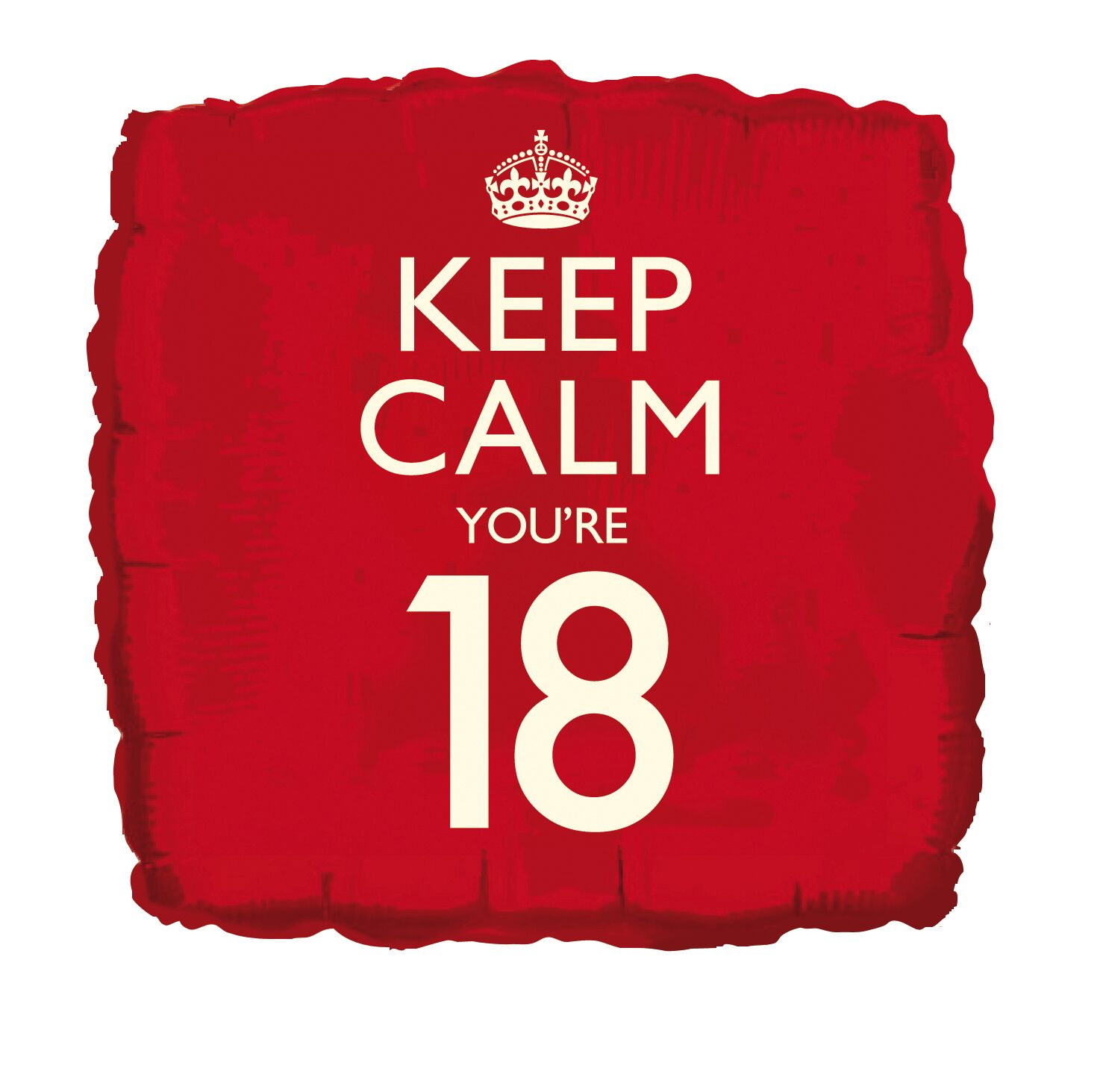 "Folija balons ""Keep calm 18"""
