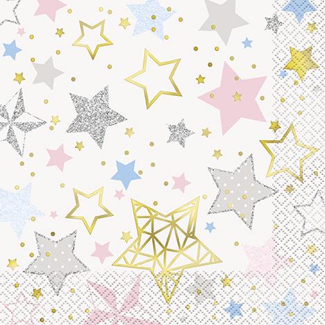 """Salvetes """"Zvaigznītes""""  (16 gab)"""