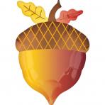 """Folija balons """"Zīle""""  (35x45 cm)"""
