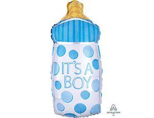 "Folijas balons ""It's a boy'' (25x58 cm)"