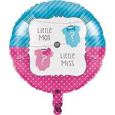 """Фольгированный шарик  """"Little Man ? Little Miss"""" (45 cm)"""