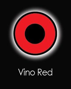 """Контактные линзы """"VINO RED UV"""" (для однодневного использования)"""