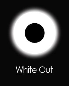 """Контактные линзы """"WHITE OUT"""" (для однодневного использования)"""