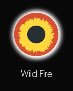 """Контактные линзы """"WILD FIRE"""" (для однодневного использования)"""