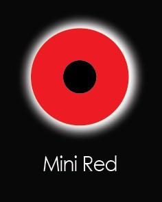"Линзы для глаз ""MINI SCLERA RED"" (1 день)"