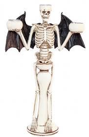 """Подсвечник """"Скелет-Летучая мышь"""" (31 см)"""